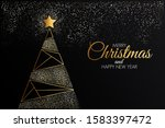 christmas colorful greeting... | Shutterstock .eps vector #1583397472