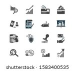 commerce icon set and secure...