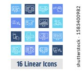 website icon set and...