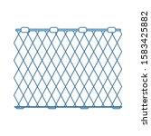 icon of fishing net. thin line...