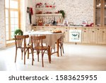Dining Room In Cottage Style....