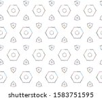 seamless vector pattern.... | Shutterstock .eps vector #1583751595