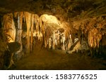 Luray Caverns Va. Yellow...