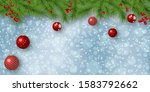 christmas and new year vector... | Shutterstock .eps vector #1583792662