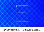 minimalist blue modern abstract ...