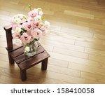 tulip gentian flower  | Shutterstock . vector #158410058