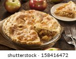 Homemade Organic Apple Pie...