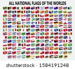 all national waving flags of... | Shutterstock .eps vector #1584191248