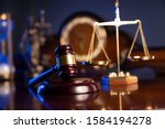 Law And Justice Symbols...