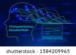 computer science education week ...   Shutterstock .eps vector #1584209965