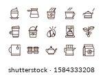 coffee fresh product maker... | Shutterstock .eps vector #1584333208