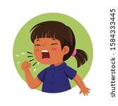 vector illustration of cartoon...   Shutterstock .eps vector #1584333445