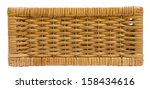 Wicker Basket Drawer Side View