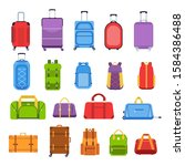 Baggage Suitcases. Luggage And...