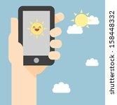 vector illustration of smart... | Shutterstock .eps vector #158448332