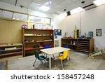 montessori kindergarten...   Shutterstock . vector #158457248