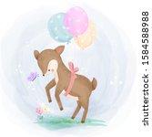Cute Animals Illustration For...
