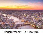 london at twilight view | Shutterstock . vector #158459306