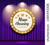 cinema theater vector and... | Shutterstock .eps vector #1584593308