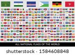 all official national flags of... | Shutterstock .eps vector #1584608848