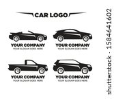 set of silhouettes concept cars ... | Shutterstock .eps vector #1584641602