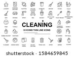 maid service vector set ...   Shutterstock .eps vector #1584659845