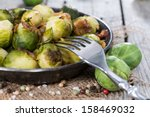 Fried Brussel Sprouts With Ham...