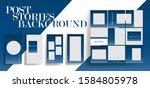 design backgrounds for social...   Shutterstock .eps vector #1584805978