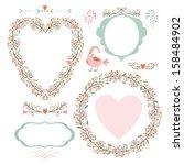 floral elegance frames and...