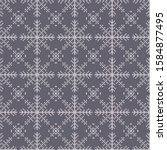christmas knitted sweater ... | Shutterstock .eps vector #1584877495