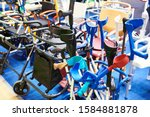 canes  crutches  and other...   Shutterstock . vector #1584881878