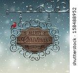 Christmas Vintage Greeting Car...