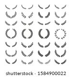 set of different black and... | Shutterstock .eps vector #1584900022