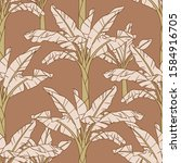 seamless vector pattern with... | Shutterstock .eps vector #1584916705