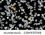 extreme close up of sand grains.... | Shutterstock . vector #1584935548