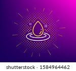 fuel energy line icon. halftone ... | Shutterstock .eps vector #1584964462