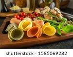 Italian Pasta  Colored Shells ...
