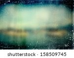 vintage distressed blurry photo ... | Shutterstock . vector #158509745