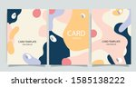 social media  frame templates.... | Shutterstock .eps vector #1585138222