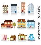 house vector icon | Shutterstock .eps vector #15851842