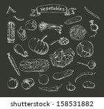 vector illustration of a set of ... | Shutterstock .eps vector #158531882