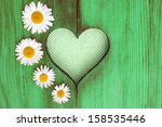 Shutter With Four Marguerites ...