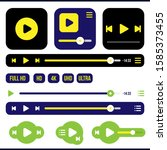 user interface vector elements. ...
