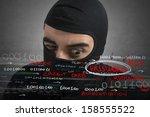 Hacker Looking For Password An...