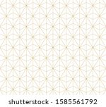 geometric abstract pattern... | Shutterstock .eps vector #1585561792