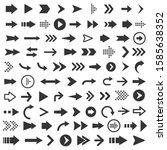 vector illustration of arrow... | Shutterstock .eps vector #1585638352