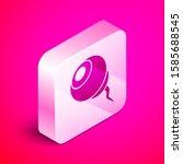 Isometric Eye Icon Isolated On...