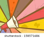 colorful illustration featuring ... | Shutterstock .eps vector #158571686