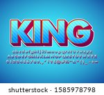 strong bold text effect with... | Shutterstock .eps vector #1585978798
