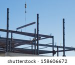 construction site of the new... | Shutterstock . vector #158606672